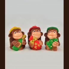 Мавпи мужественні (6х8х9 см)