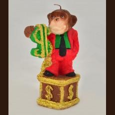 Мавпа Статуя в костюмі (8 х 14 см)
