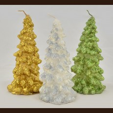 Paraffin candles Christmas tree NYTm