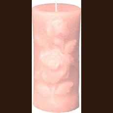 Свеча Роза ( 7,5 x 15 )