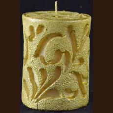Cвічка Рококо (8 x 10 см) золотая