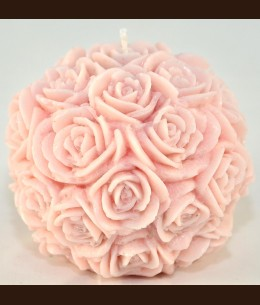 Candel Roses Ball ( о10.5 cm )