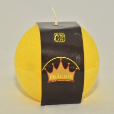 Candel Rustic Ball yellow ( D-10 х 10, 70 hours ) / 6