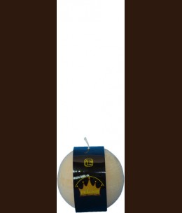 Свічка Рустік Шар бежевий ( D-10 х 10, 70 год ) / 6