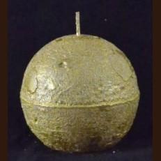 Свічка Шар 8 см золота