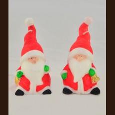 Санта червоний вел (9х17,5 см)