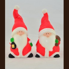 Санта красный маленький (7х13 см)