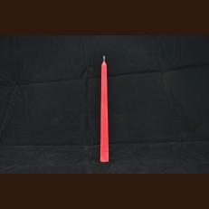 Свічка столова червоний ( 2,2 x 25 см ) / 105