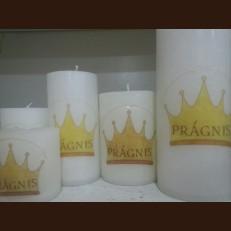 Свічка з логотипом
