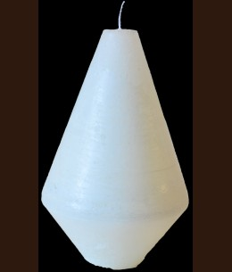 Свічка капля мала біла 6x h8