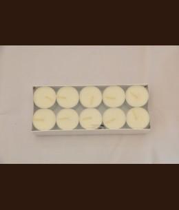 Свеча чайная белая ( 37,5x12 мм ) уп. 30 шт
